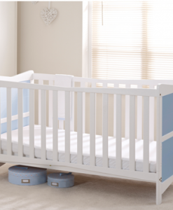 kitty cot bed - blue